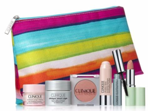 Free 9-pc Gift With Any $50 Clinique Purchase @ Saks Fifth Avenue