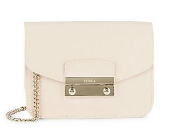 $159.99 Furla Julia Mini Leather Crossbody Bag @ Saks Off 5th