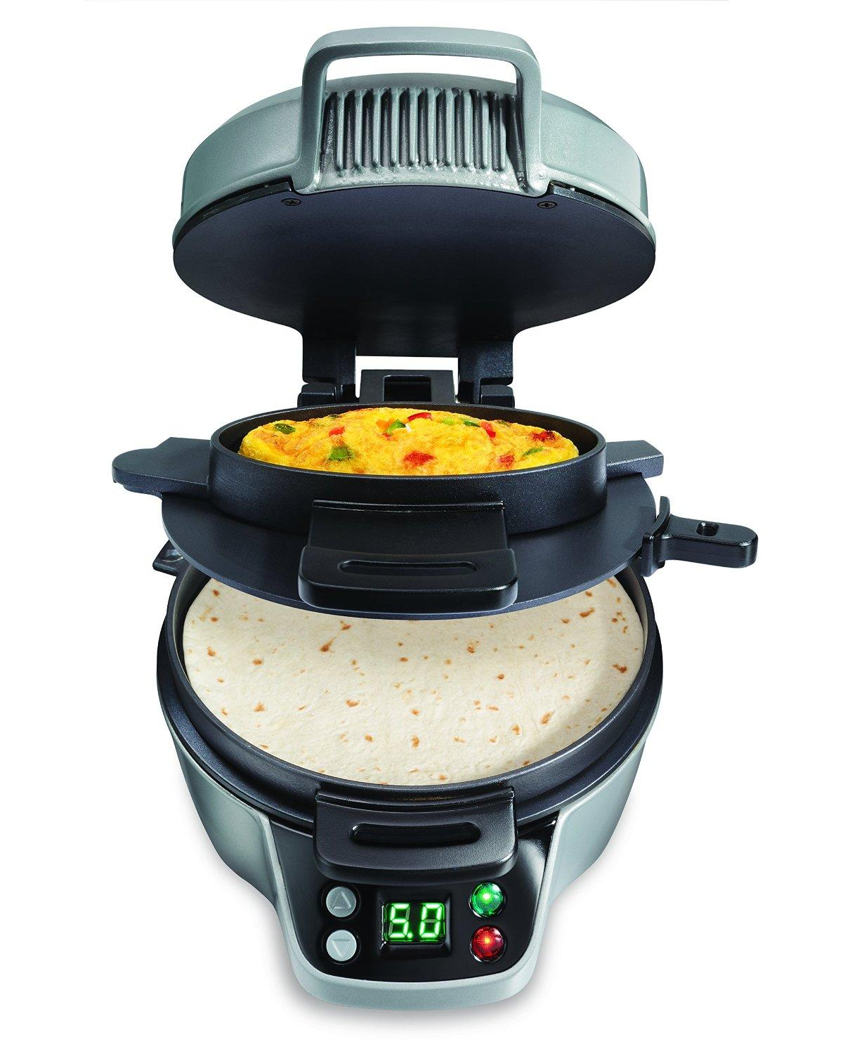 Hamilton Beach Breakfast Sandwich Maker 25475A
