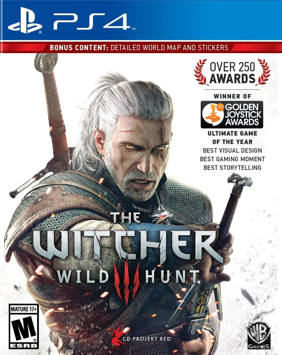 $29.99 The Witcher III: Wild Hunt PlayStation 4