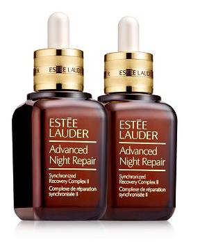 $155+Free 6 Deluxe Samples Estée Lauder Advanced Night Repair Synchronized Recovery Complex II, Set of 2