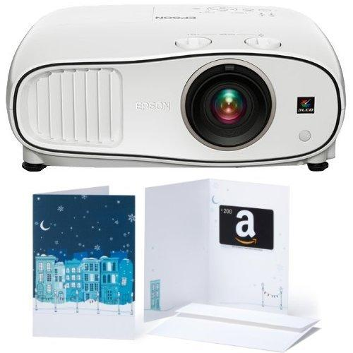 $200 Amazon Gift Card Epson Home Cinema 3500 1080p 3D 3LCD Home Theater Projector & Amazon.com Gift Card