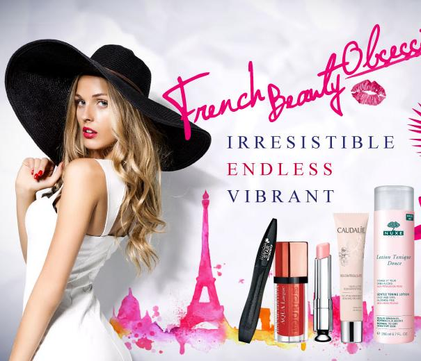 Up to 82% Off French Beauty Obsession @ Sasa.com
