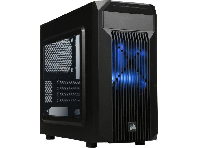 Corsair Carbide SPEC-M2 Black Micro ATX Computer Case