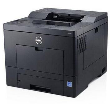 Dell C2660dn Color Laser Printer, Up to 28ppm Simplex, 600x600dpi, 150 Sheet Multipurpose Tray, USB 2.0/Ethernet