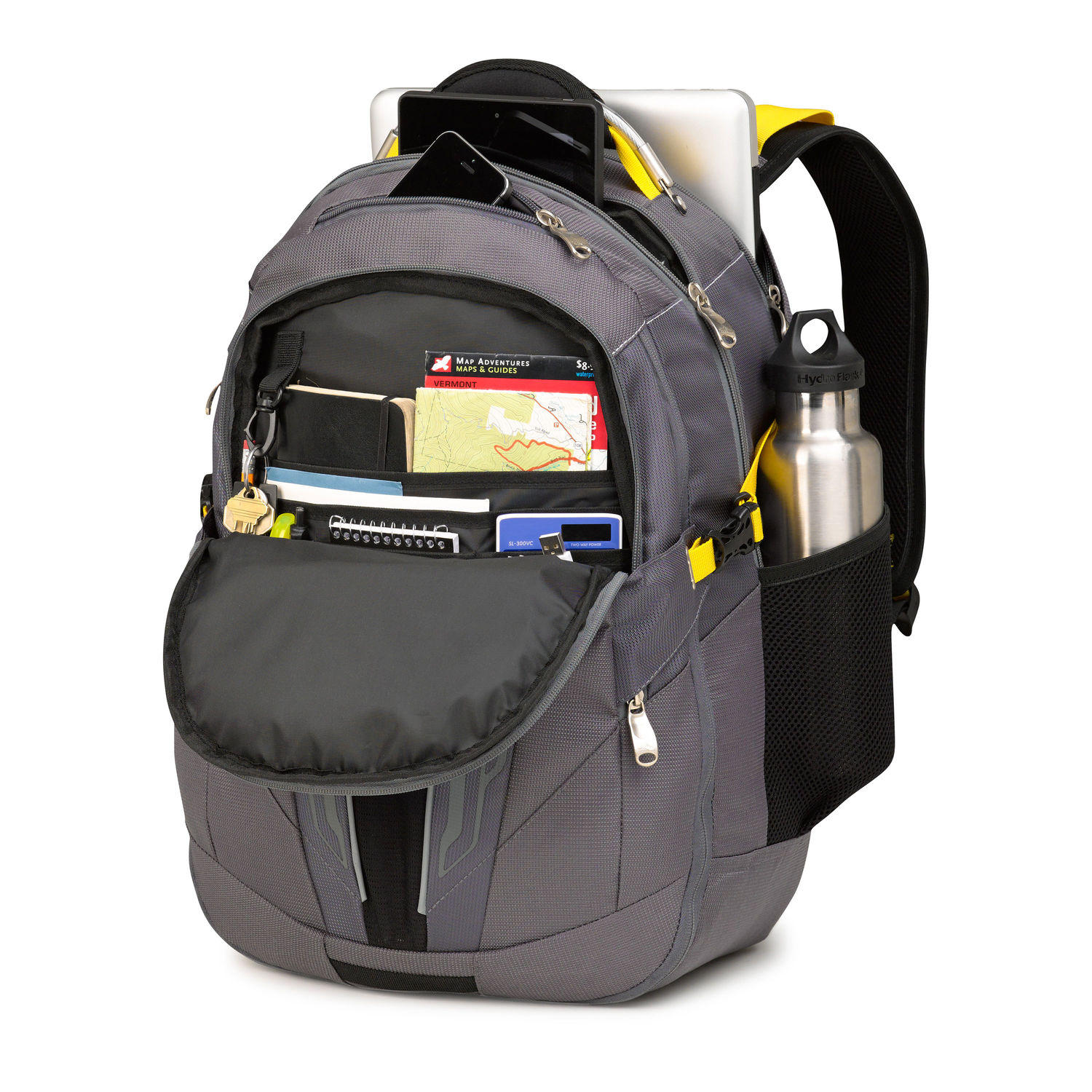 High Sierra Prime Access Business Backpack (Navy)