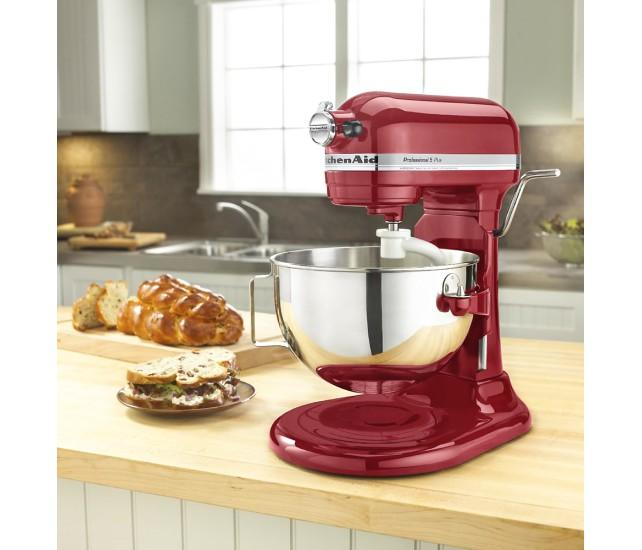 KitchenAid PRO 500 Plus Series 5-Quart Stand Mixer All Metal (Empire Red, Silver, Onyx Black)