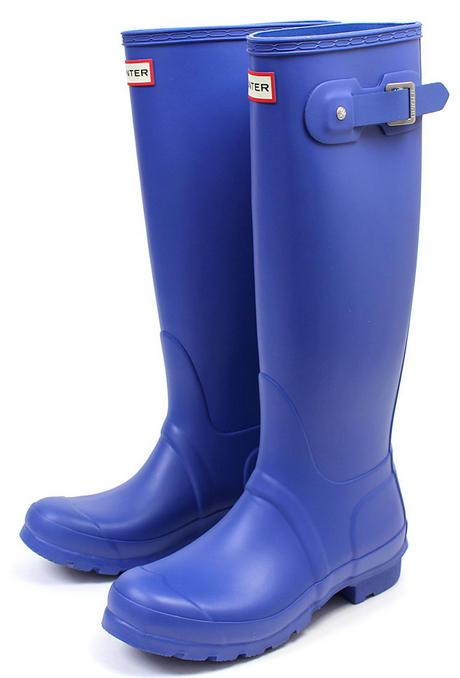 Hunter Boot Original Tall Rain Boot, Bright Cobalt