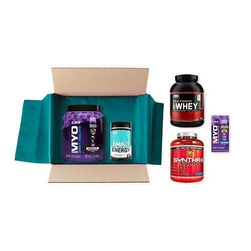 $9.99 Sports Nutrition Sample Box, 8 or more samples ($9.99 credit with purchase)