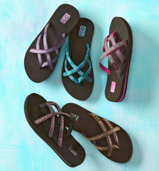 2 For $45 Select Flip Flops @ Teva