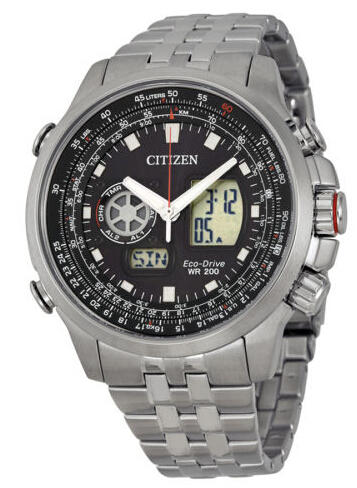 Citizen Promaster Air Black Dial Mens Watch JZ1060-76E