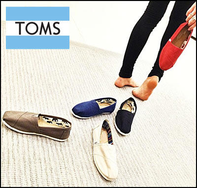 Up to 40% Off Select Toms Shoes @ Neiman Marcus