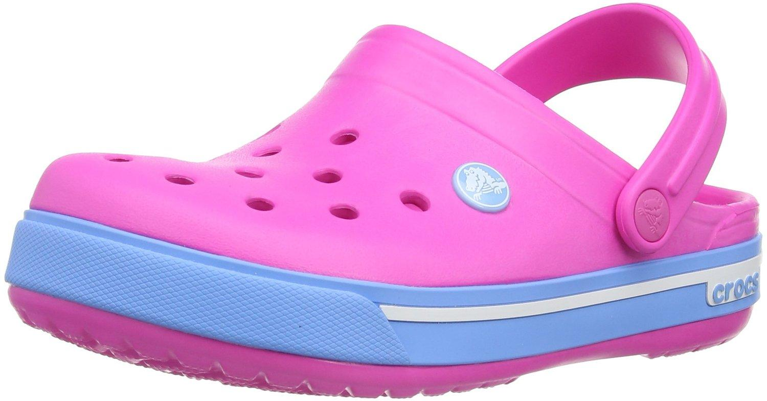 crocs Kids' Crocband II.5 Clog, 10/11 M US Little Kid
