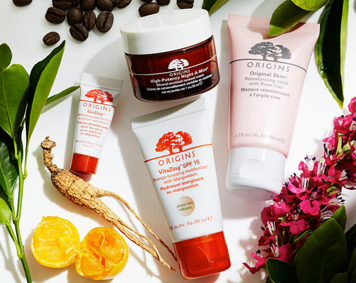 Free Mask + Serum Combo with Any Order over $40 @ Origins
