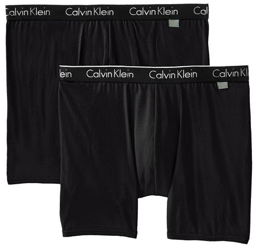 From $15.56 Calvin Klein Men's 2 Pack One Cotton Boxer Brief