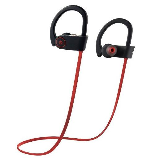 Wireless Bluetooth Earbuds, Otium® Bluetooth Headphones -Sport Sweatproof -Stereo with Bass, Noise Cancelling -Ergonomic Design, Secure Fit -In-Ear Headsets Bluetooth V4.1