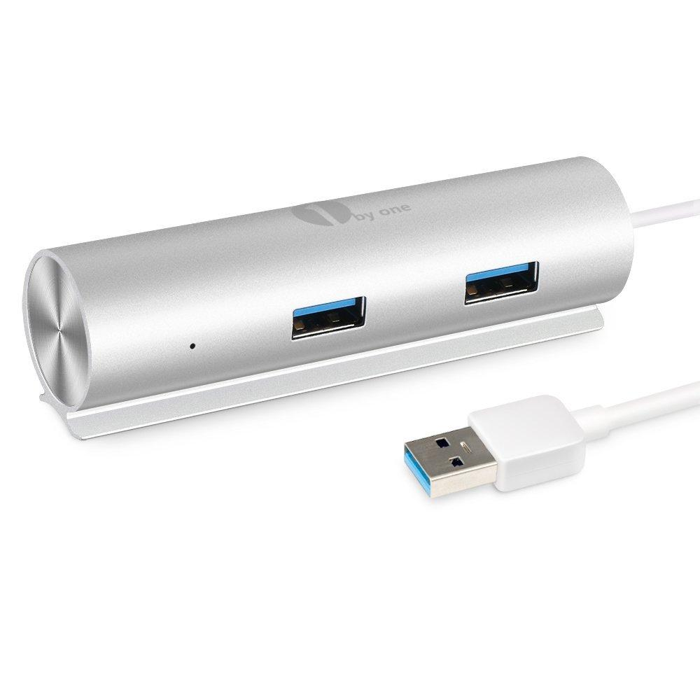 1byone SuperSpeed Aluminum USB 3.0 4-Port Hub