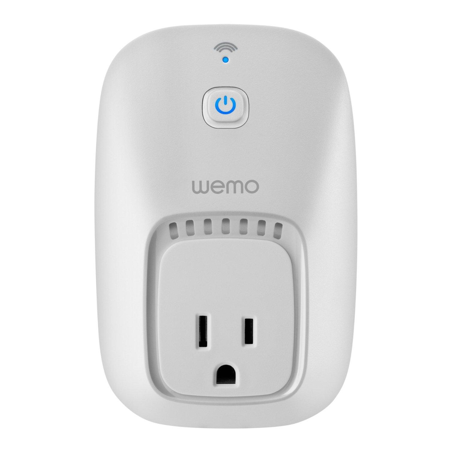 Belkin WeMo Switch for  Your Phone, Works with Alexa