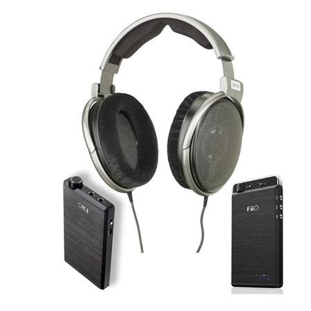 Sennheiser HD650 Audiophile Headphone W/Fiio E12 Amplifier/Fiio E18 Phone AMP