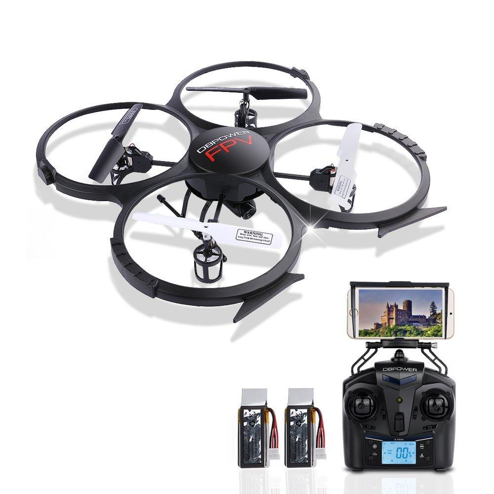 Up to $34 off! DBPower and Tech.Bean RC Quadcopters Sale!