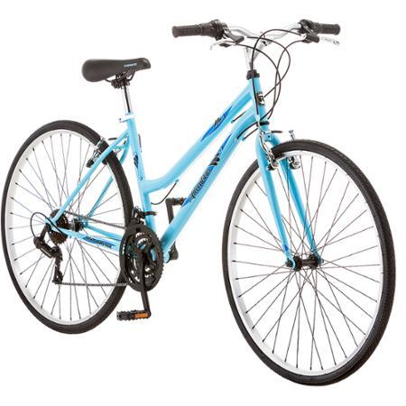 700c Roadmaster Adventures Women's Hybrid Bike (Light Blue)