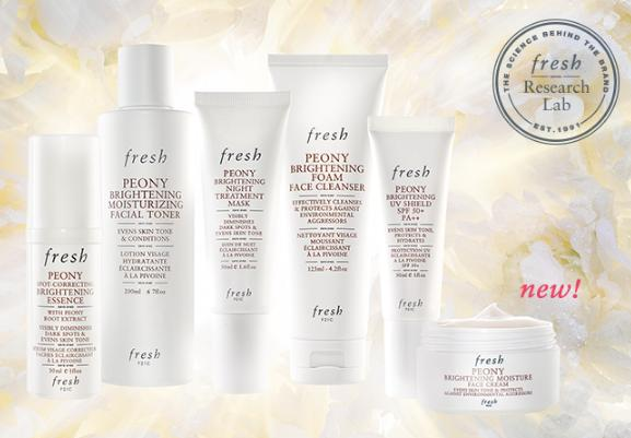 Free Peony Brightening Duo Deluxe Sample With Over $100 Purchase @ Fresh