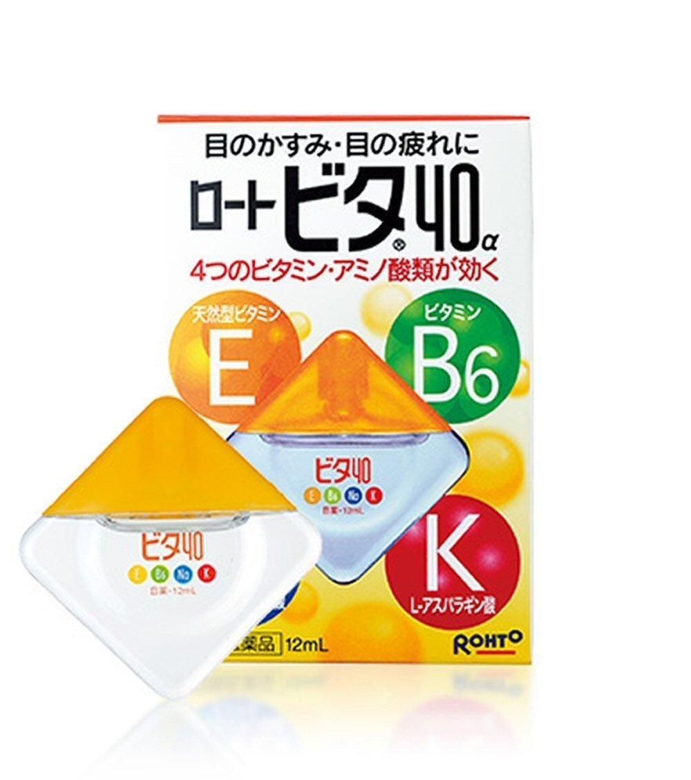 $10.14 Rohto VITA Vitamin 40a Eye Drops 12ml - 1 pack