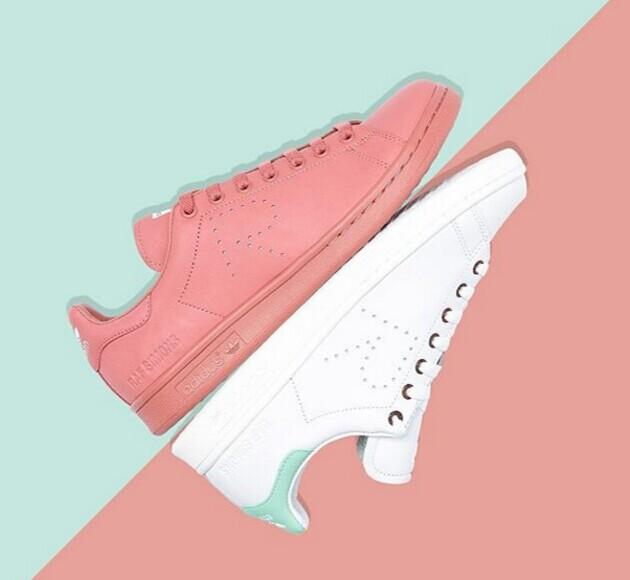 From $120 Stan Smith adidas by RAF SIMONS Sneakers @ Net-A-Porter