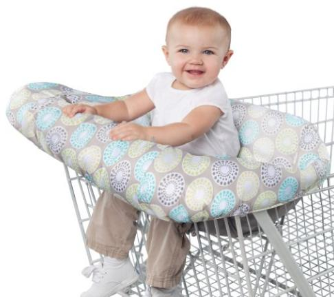 Comfort & Harmony Cozy Cart Cover, Chocolate Circles
