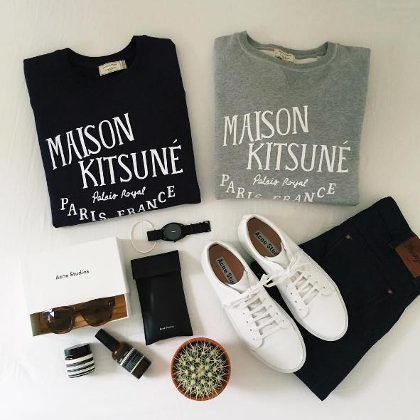 Up to 70% OFF Maison Kitsuné Sale @ SSENSE