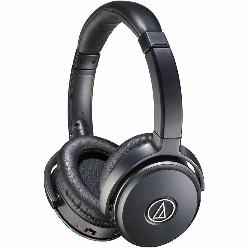AUDIO-TECHNICA QuietPoint® Active Noise-Cancelling Over-Ear Headphones (ATH-ANC29)