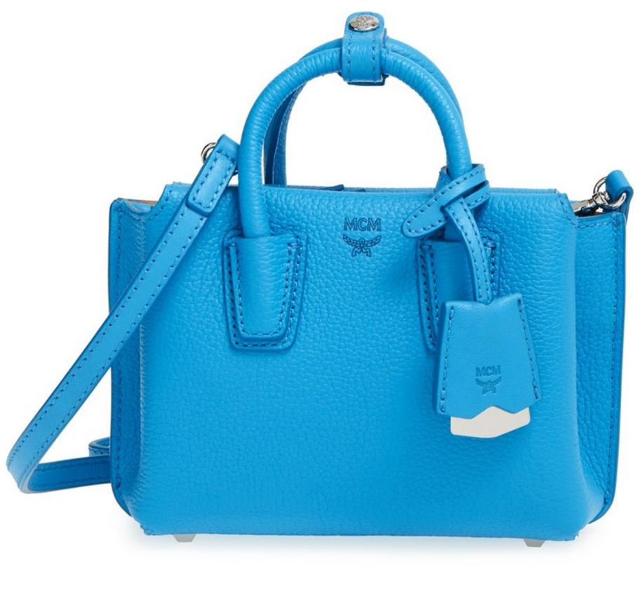 $363.98 MCM 'X Mini Milla' Leather Tote @ Nordstrom