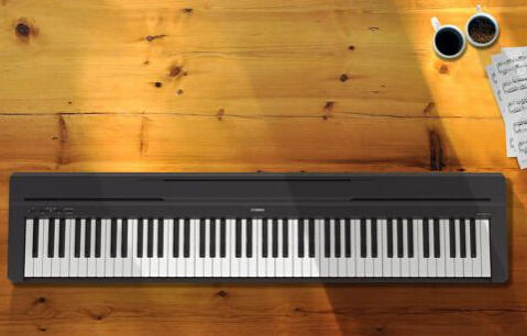$329.99 Yamaha P-45 88-Key Entry Level Digital Piano, Black