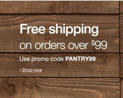 Free Shipping on Order Over $99 Amazon Prime Pantry