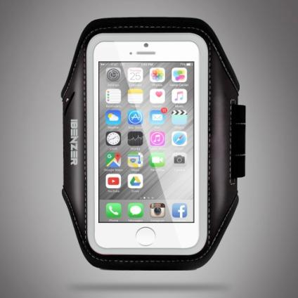 $5 Off! iBenzer Premium Water Resistant Exercise Armband with Key & ID Card Holder