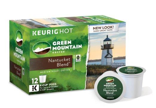 $10.44 Green Mountain Coffee Nantucket Blend, Keurig K-Cups, 12 Count (Pack of 6) : Grocery & Gourmet Food