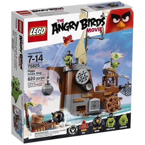 $47.99 LEGO Angry Birds 75825 Piggy Pirate Ship Building Kit (620 Piece)