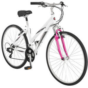 $99.00 700c Schwinn Women's Zeno Multi-Purpose Bike, White/Pink