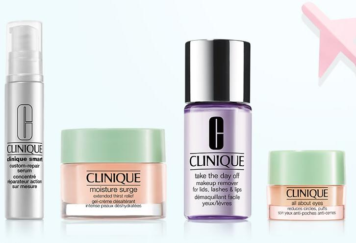 Free 4-piece Travel Minis Kit with Any $40 Purchase @ Clinique