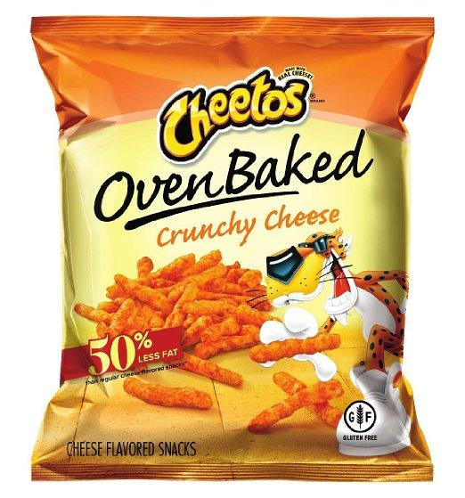 Baked Cheetos Oven Cheese Snacks, Crunchy, 0.875 Ounce (Pack of 104)