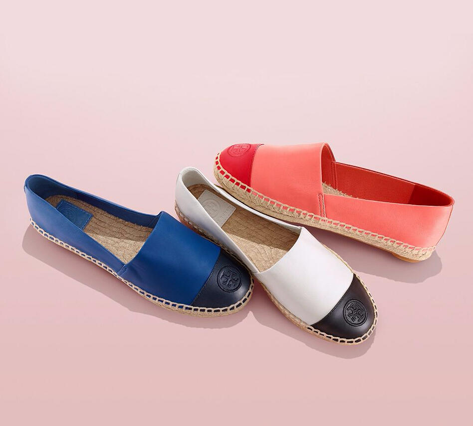 Up to 40% Off Women's Espadrille Shoes @ Tory Burch