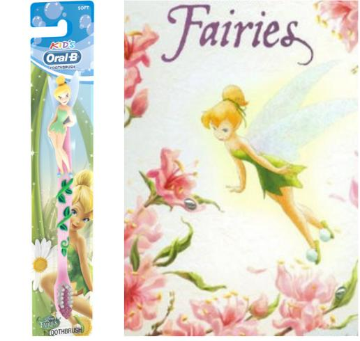 $2 Oral-B Kid&Disney Fairies Manual Toothbrush
