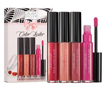 LAURA GELLER Color Luster Lip Gloss ($76 Value!)  @ Beauty.com
