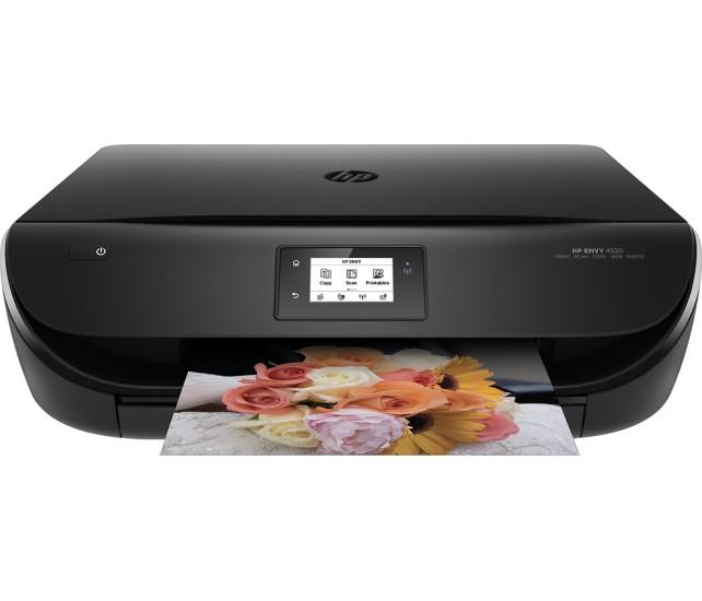 HP ENVY 4520 Wireless All-In-One Printer - Black