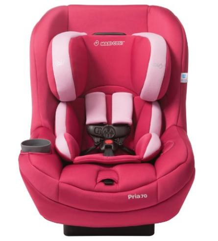 2014 Maxi-Cosi Pria 70 with Tiny Fit Convertible Car Seat, Sweet Cerise