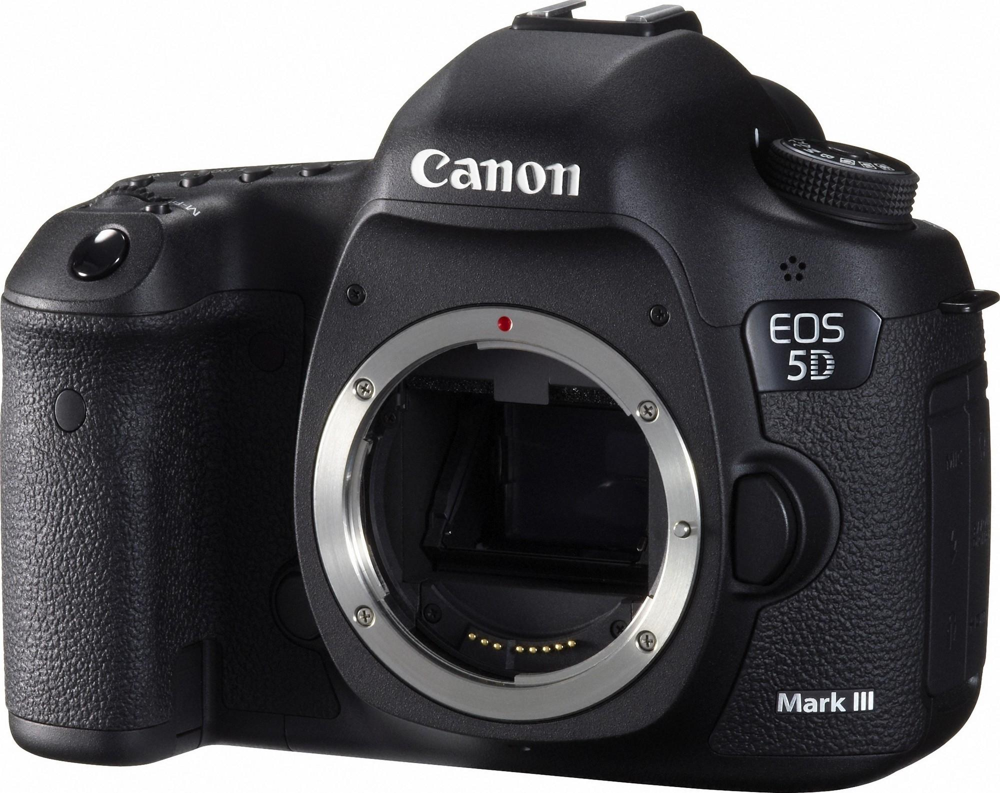 $1999 Canon EOS 5D Mark III DSLR Camera Body Only