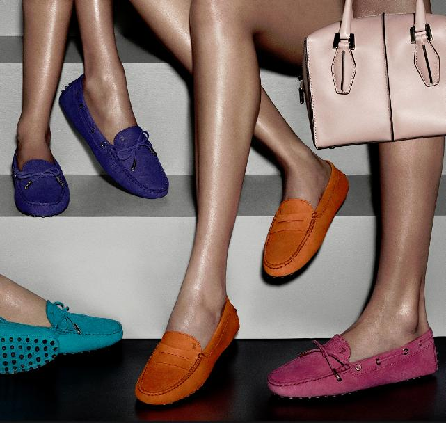 Up to 50% Off Tod's Women Driving Shoes on Sale @ Luisaviaroma