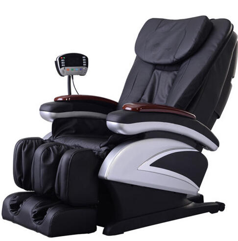 $669.99 + Free Shipping New Full Body Shiatsu Massage Chair Recliner w/Heat Stretched Foot Rest
