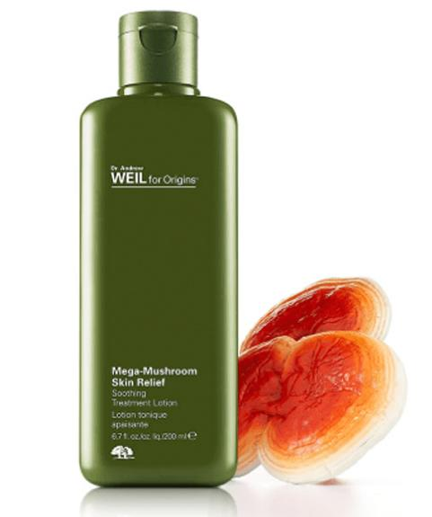 A free full-size A Perfect World Moisturizer (a $43 value) with any $35 MEGA-MUSHROOM SKIN RELIEF SOOTHING TREATMENT LOTION