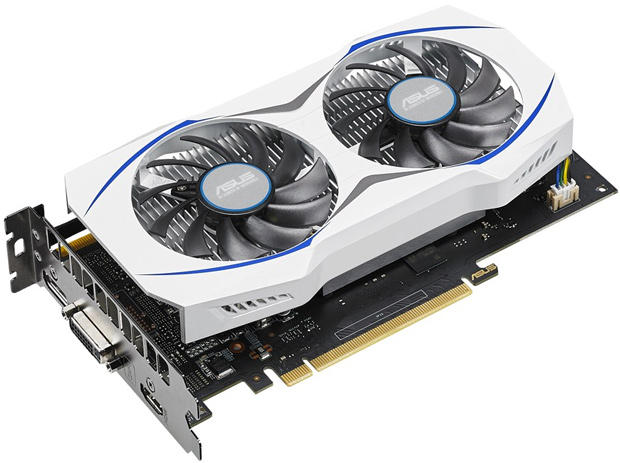 Asus GEFORCE GTX 950 Graphics Card Dual-Fan Cooling